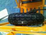 Camion di mano d'acciaio di Floding di dovere di sollevamento per l'euro servizio