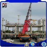 La construcción de la estructura de acero galvanizado para oficina