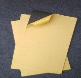 hoja negra del PVC del pegamento de 0.8m m para Photobook