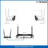 1080P 4CH Sistema de seguridad inalámbrica WiFi Kit de NVR Cámaras IP