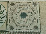 Forma redonda de alto artístico del mosaico del azulejo del piso y la pared de la decoración