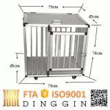 Les chiots et les chiens pour la vente de la cage en aluminium