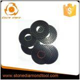 пусковые площадки смолаы пола диаманта 250mm конкретные полируя влажные
