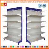 Mensola del supermercato del comitato posteriore della rete metallica del rivestimento della polvere di modo (Zhs138)