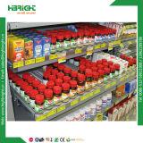Supermarkt-justierbares Teiler-Zigaretten-Regal-Ausdrücker-Tellersegment