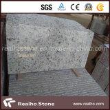 Mattonelle bianche di pietra popolari del granito del Brasile Rosa per il pavimento e la parete