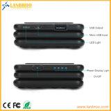 Sustentação sem fio Multi-Function da porta do USB do banco da potência que cobra com o cabo