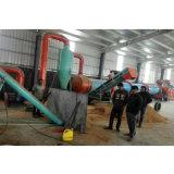 Tamburo essiccatore rotativo caldo di corrente d'aria della segatura di vendita