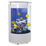 Tanque de peixes acrílico de Eco do Semicircle creativo feito sob encomenda da sala de visitas