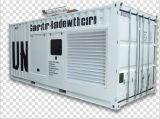 Mtu три этапа 3300V/50Гц/1500об/мин/2000KW контейнерный тип дизельного генератора,