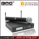 1:1 superiore Slx24/Beta58, Slx24/Sm58, Slx24/Beta87c, microfono senza fili Slx14 per Vocals in tensione