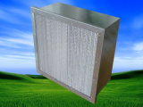 Filter der Aluminiumrahmen-Minifalte-HEPA (HS)