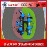 De hete Apparatuur van het Vermaak van de Verkoop Plastic Blauwe, de OpenluchtApparatuur HD16-019A van de Speelplaats van Jonge geitjes