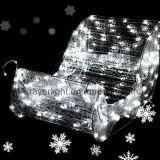 Fuera de las vacaciones de Navidad trineo Bonita iluminación LED Iluminación de las luces del trineo Sled