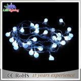 Indicatori luminosi leggiadramente esterni della stringa della decorazione di natale della sfera del LED