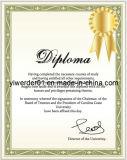 Anti-Counterfeiting los valores de impresión de documentos de papel (H-082)
