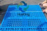 Plastic Pallet met de Bodem van de Omlijsting, Open Stapelbaar Dek,