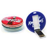 원형 USB 지팡이 둥근 펜 드라이브 둥근 플래시 메모리