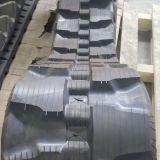 Piste en caoutchouc de chargeur de boeuf de dérapage (T450*100K*48) pour des machines de construction