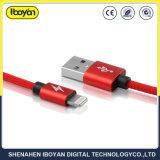 이동 전화를 위한 주문 빠른 번개 USB 데이터 충전기 케이블