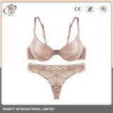 Sexy Bra conjuntos Panty de encaje ropa interior femenina para mujeres