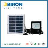 indicatore luminoso di inondazione solare impermeabile esterno di 10W IP65 LED