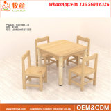 Mobilier en bois de l'école pour enfants Children's School Table et chaises