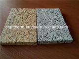 Panneau en aluminium de nid d'abeilles des graines en pierre pour des matériaux de construction