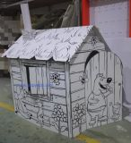 Papel del gato de casa, la casa del juguete de papel, cartón Casa