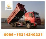 Bajo precio 336HP utiliza Sinotruk camiones HOWO Neumáticos 10 Volquete Camión Volquete 6X4 con mejores condiciones