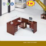 싼 가격 MFC 나무로 되는 마호가니 색깔 사무실 테이블 (HX-5N014)