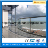 Curved quente Glass com Heat Stengthed