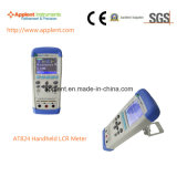 Portable Lcr Meter com Freqüência de teste de 100Hz a 1kHz (AT824)