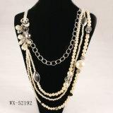 Collier de perle de quatre couches (WX-52192)