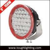 12V 24V 9 Träger CREE LED des Zoll-150W runde kombinierte Arbeits-fahrendes Licht