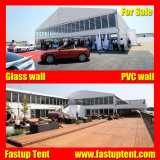 Fabricado na China Arch PVC Superior Double Decker Marquee tenda para restaurante