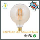 Lâmpadas LED G40 / G125 4W / 6W / 8W 420/650 / 850lumens Listado UL, Certificado Ce