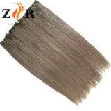 De lichte Inslag van het Menselijke Haar van het Haar van de Kleur Dubbel Getrokken Indische