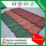 Mattonelle di tetto di pietra del metallo del rivestimento di alta qualità fatte in Cina