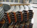 Horizontaal Spoor van Industriële Deur/de de het Sectionele Spoor/Hardware/Toebehoren van de Deur van de Garage