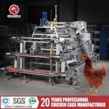 Клетки кладя куриц цыпленка с вентиляцией и системой отопления (A-3L90)