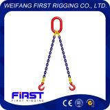 Brides à chaînes de levage de pattes du facteur de sûreté Grade80 deux