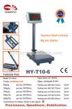 Escala de plataforma de pesaje electrónico con alta precisión la celda de carga