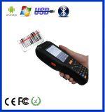 Andriod 3G WiFi Bluetooth NFC RFID 인쇄 기계를 가진 산업 Barcode 스캐너 PDA