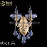 Metallwasser-blaues goldenes Wand-Licht