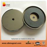 Forte magnete di ceramica permanente della tazza del magnete del POT