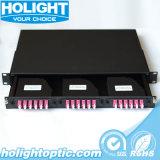 Tableau de connexions MPO ou MTP de fibre optique