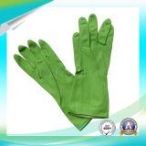 Перчатки работы чистки латекса высокого качества при одобренный SGS