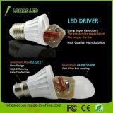 2017 Chine Fournisseur LED Ampoule en plastique Light Ce RoHS Économie d'énergie LED Ampoule haute puissance 3W 5W 7W 9W 12W 15W SMD5730 ampoule LED