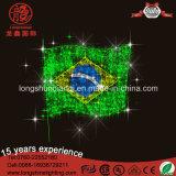 Свет Поляк веревочки шнура флага СИД 220V 24vnational для украшения праздника